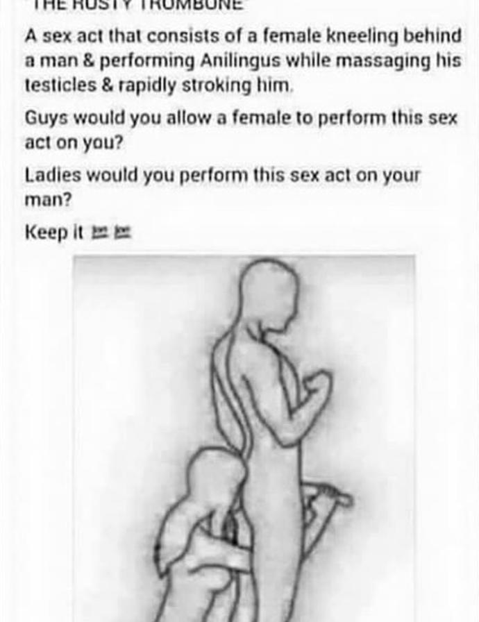 Guys would you allow a female to perform this sex act on you?