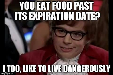 Do you eat or dispose of food after its Best-before date?