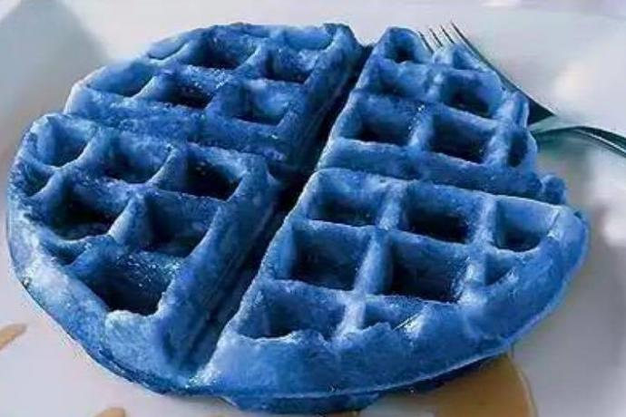 Would you eat a blue waffle?