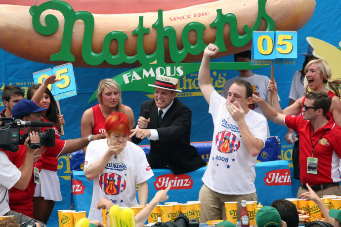 Have you competed in a food-eating contest?
