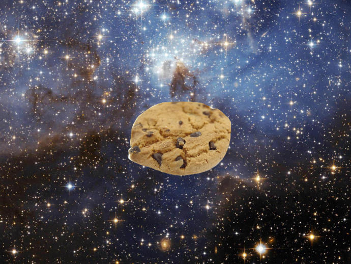 If you were to fling a scoop of cookie dough in space directly toward the sun, how long would it take the dough to turn into a fully baked cookie?