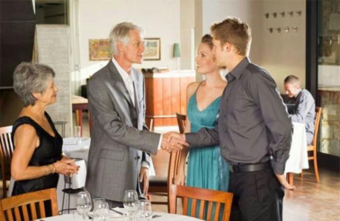 Meeting the good o' parents?