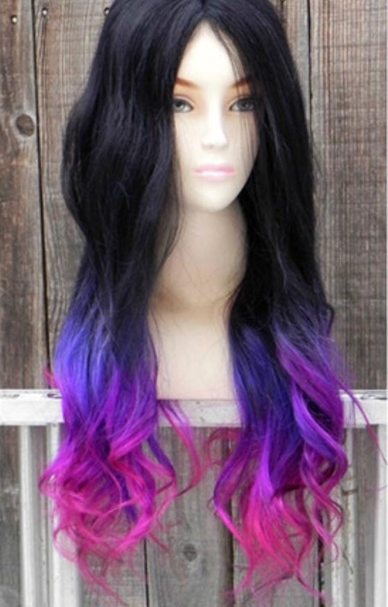 Should I color my hair like this?