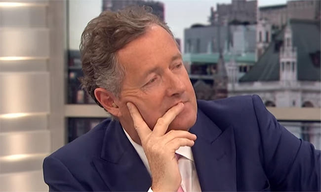 Unpopular opinion Piers Morgan is a legend?