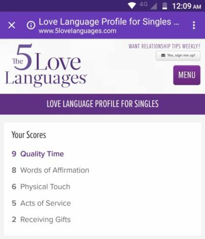 physical touch love language meaning