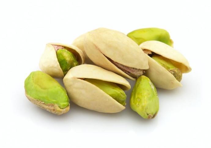 17 pistachios
