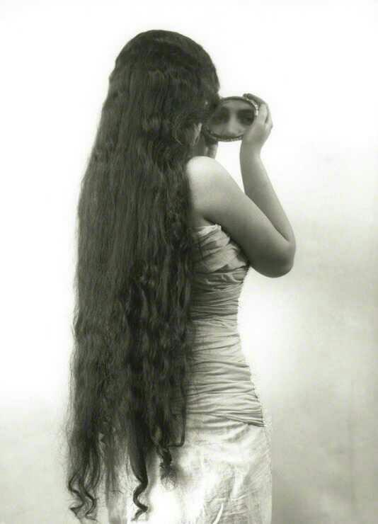 What is the longest you've ever had your hair?