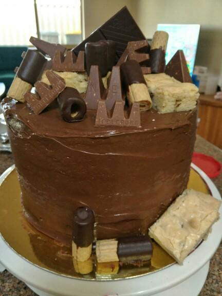 Do you like the cake I made for my son's 12th birthday?