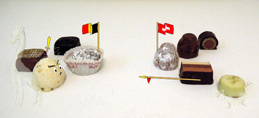 Which do you prefer -Swiss or Belgian chocolate?