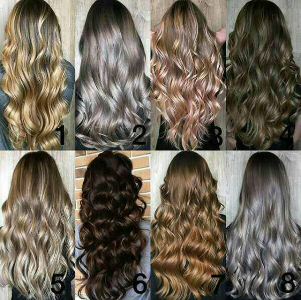 Which hair colour do you like the most?