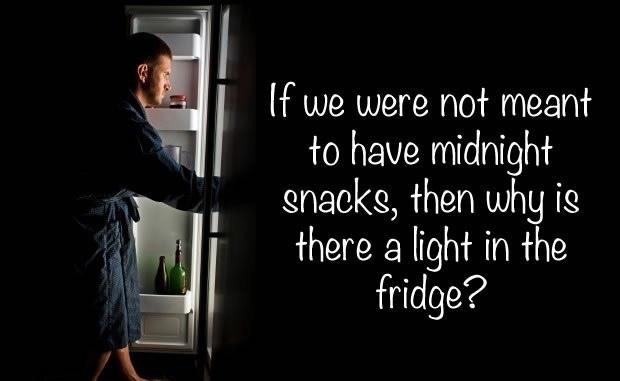 What food makes the perfect midnight snack?