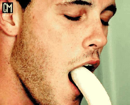 As a guy, would you be comfortable eating a banana in a public space?