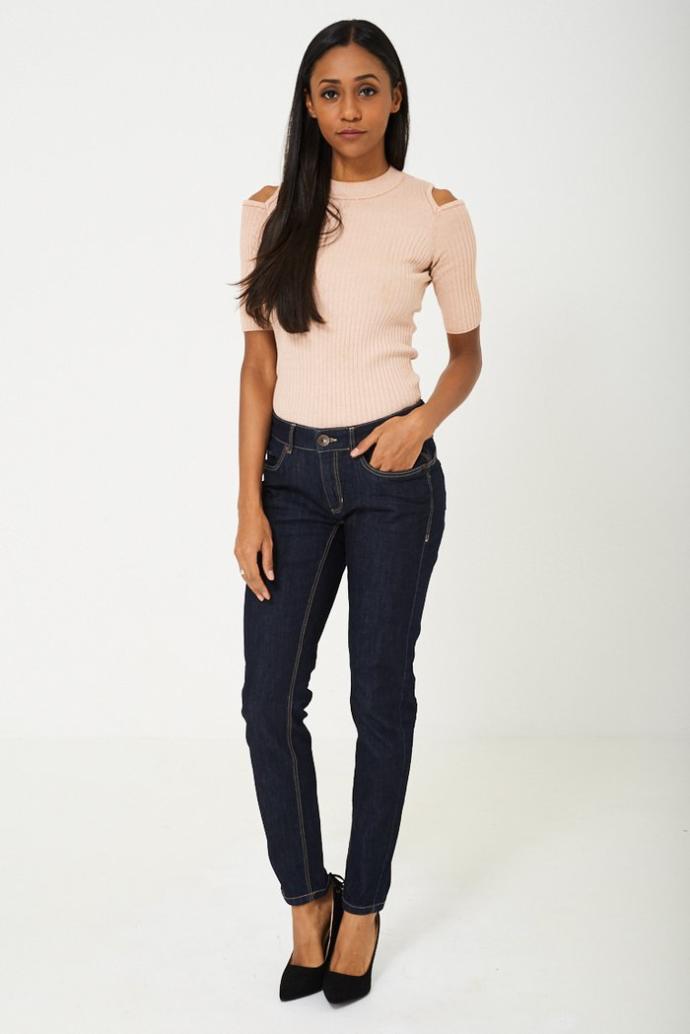 Low-rise pants