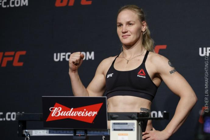 I absolutely love Valentina Shevchenko to the point of a crush! She is one of the top Champion MMA fighters in the world as well as a champion dancer in South America. Has her athletic prowess kept her breasts small?