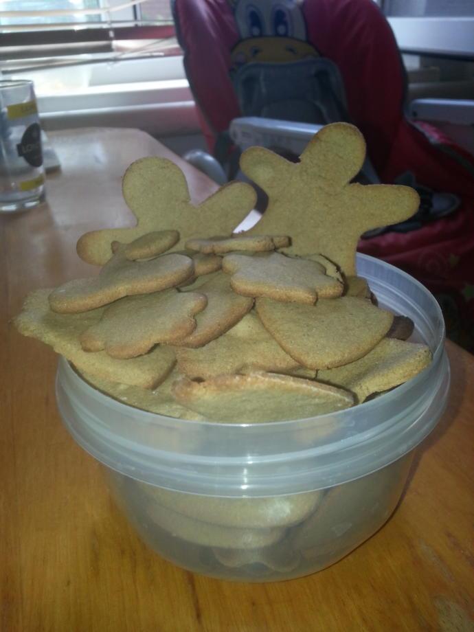 Whoild u eat my oatmeal cookies?