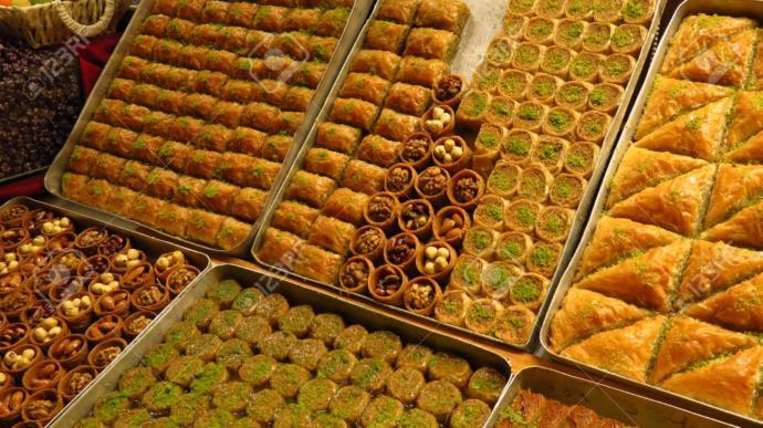 Would you like try taste Baklava?