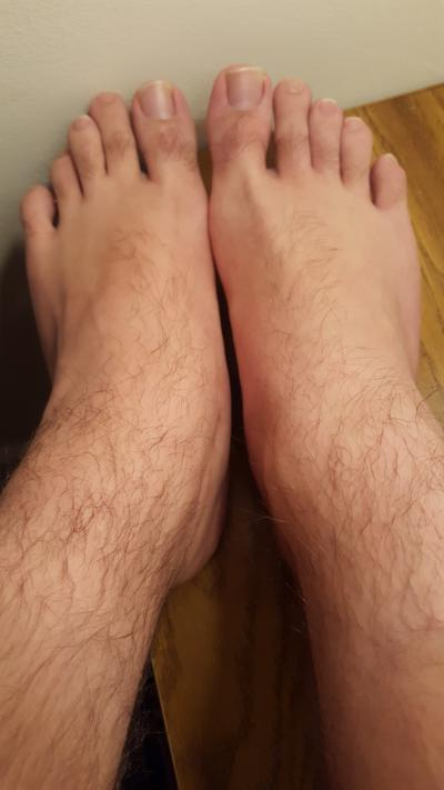 Should men shave their feet