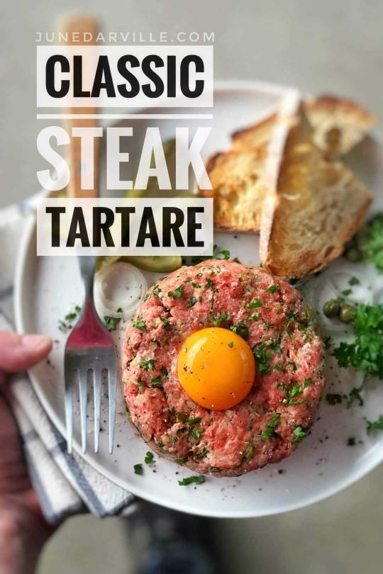 Would you have a steak tartare?
