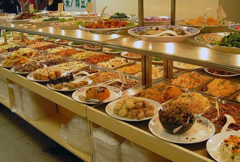 Do you like eating at buffets during the weekends?