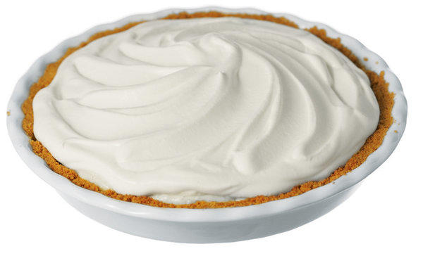 If I gave you a cream pie would you eat it?