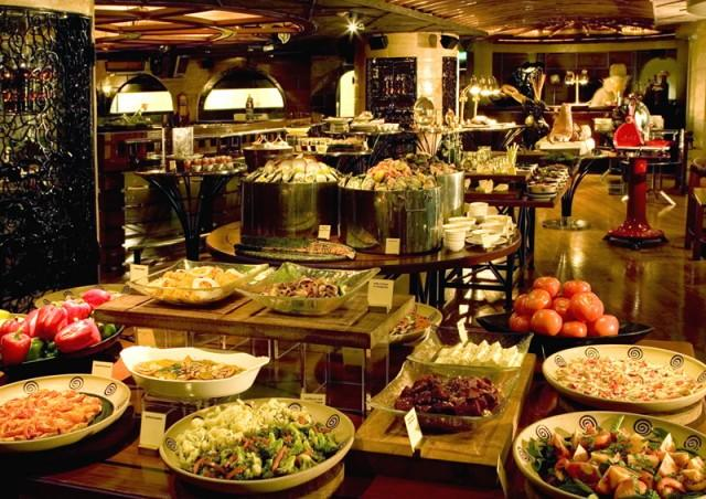 You win a free trip to the world's best, all you can eat buffet. What's On Your Plate?