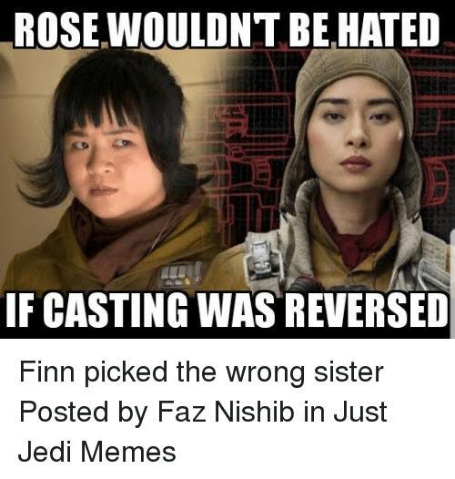 Rose Tico vs Paige Tico