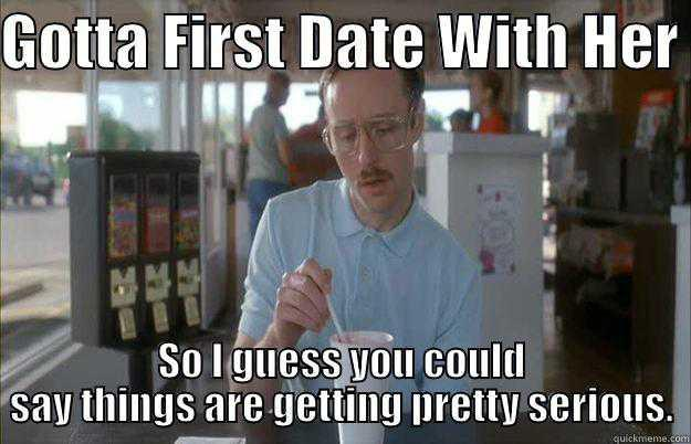 Do you ever get nervous before a first date?