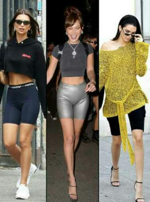 What do you think of the bike short trend?