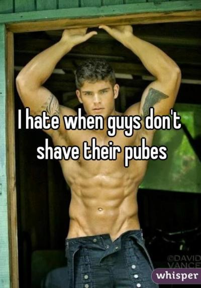 Do girls like guys with pubes