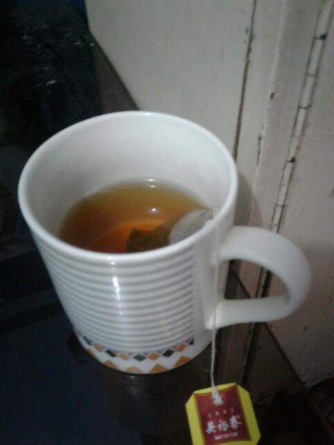 Why does my tea taste like chinese?