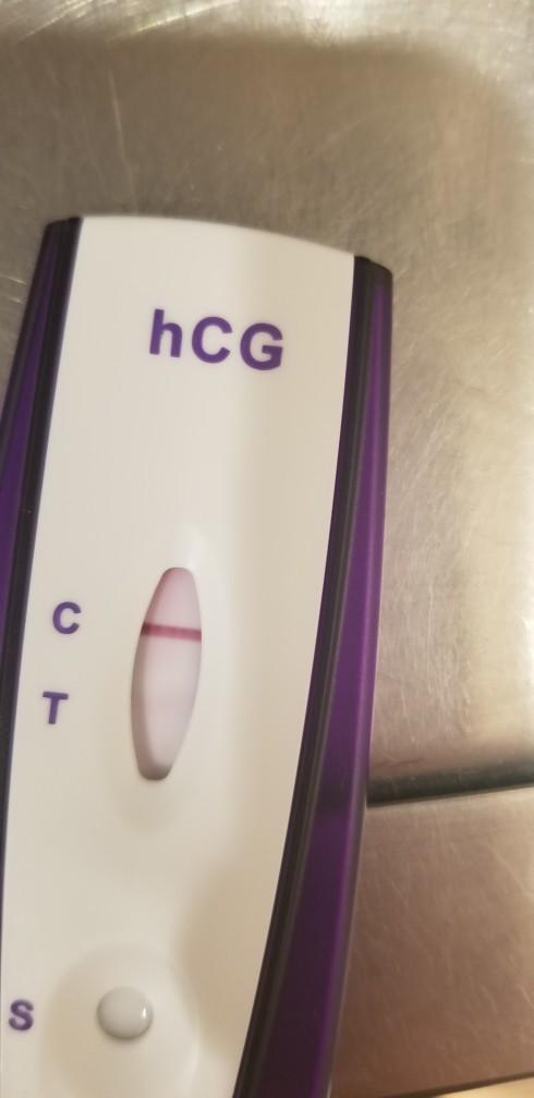False positive pregnancy test?