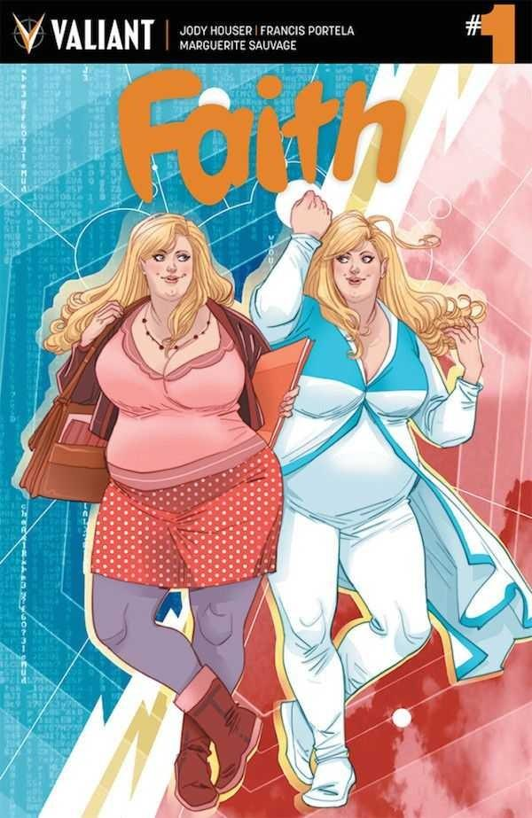 What do you think of this new superhero? One of the main things about her is she is a fat lady?