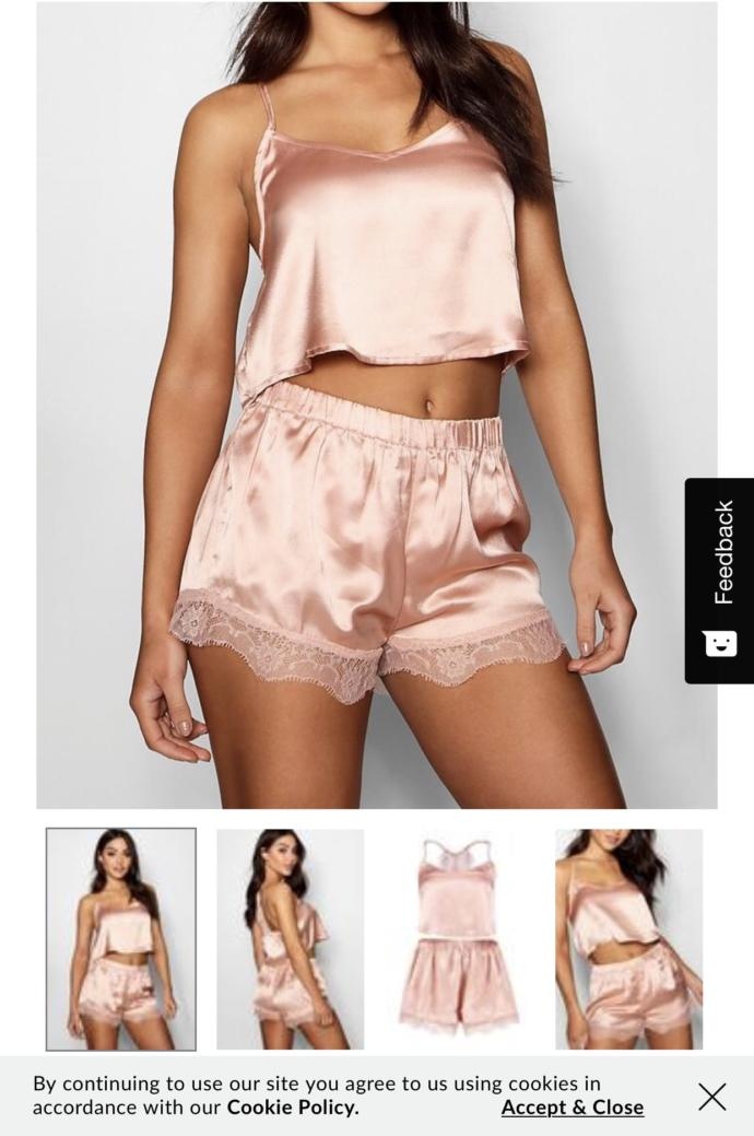 Which pajama set is cuter ?