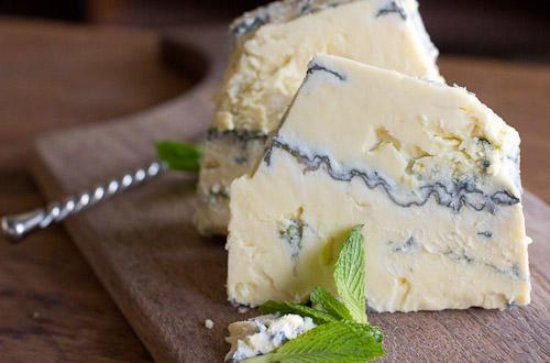 So you like blue vein cheese?