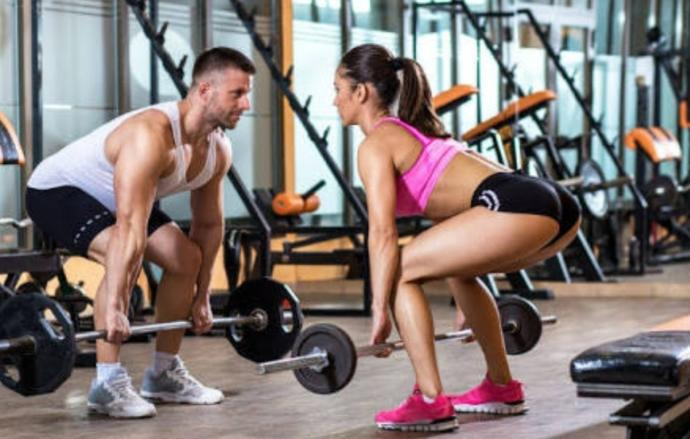 Do you and your partner go to the gym together?