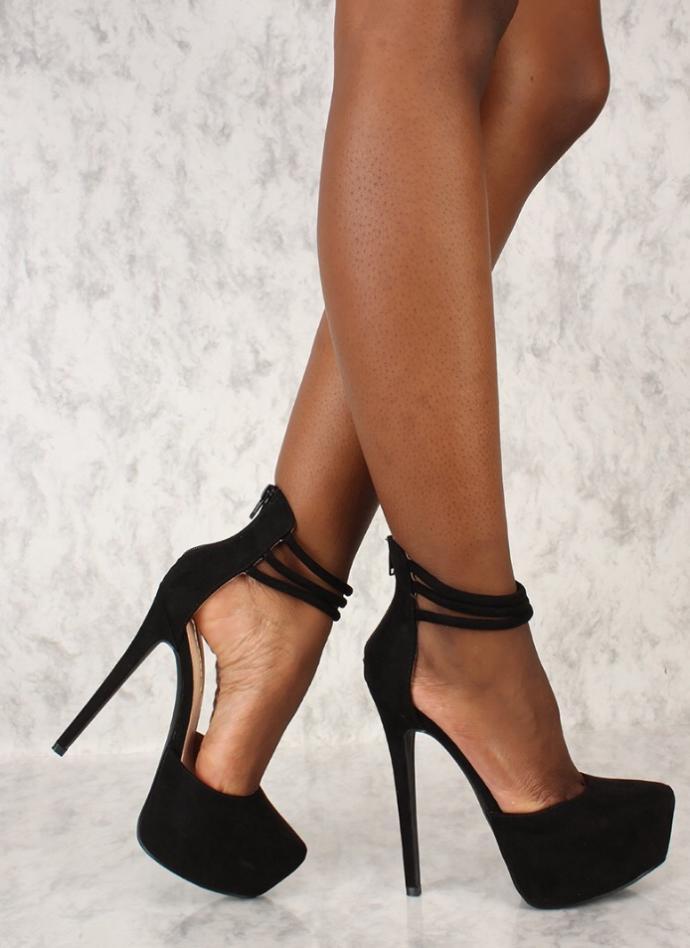 Wearing heels during sex?