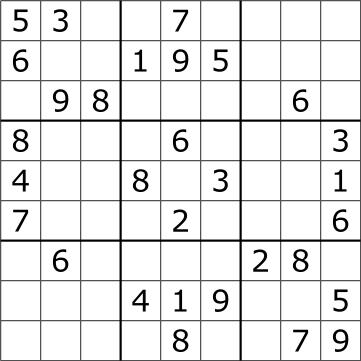 Can you do sudoku?