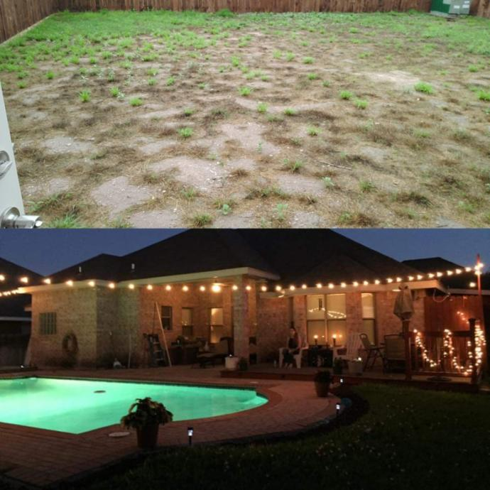 Which garden would you rather have?