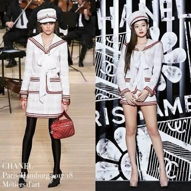 who wore this sailor inspired ensemble better?