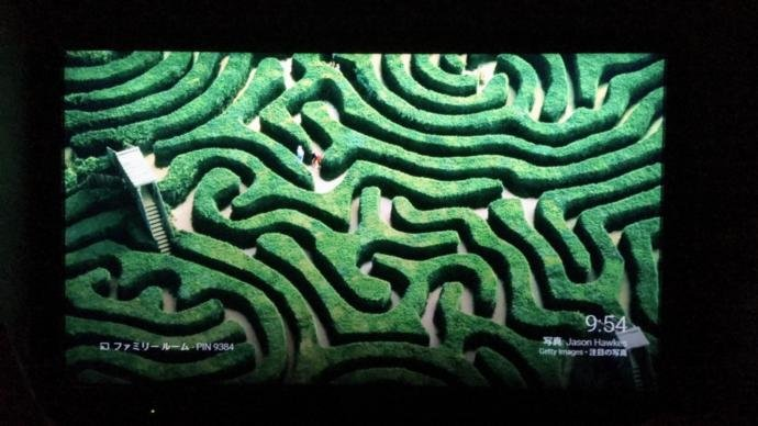 Where is this particular labyrinth maze located?