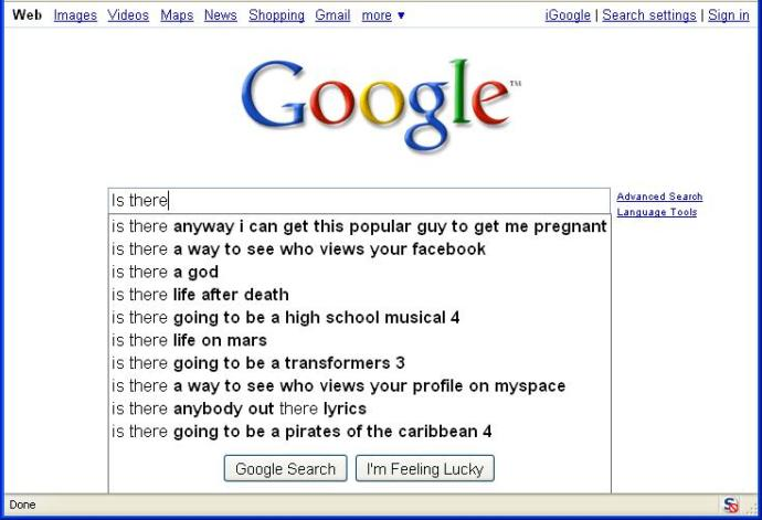 Is the Google search engine a big steaming pile of shit?