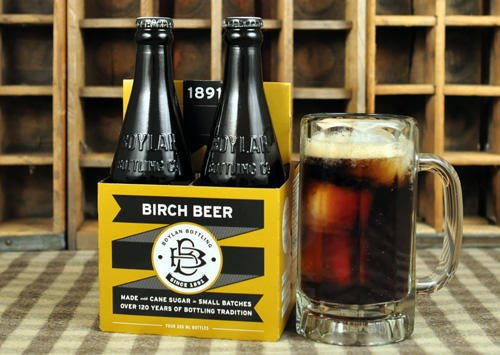 Birch Beer is a soft drink beverage from the Eastern United States