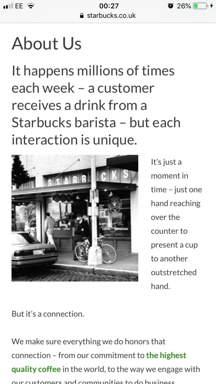 Do you think with the research I done. I should get hired at my local Starbucks?🤪 like come on, I learnt more information about the company thoughts?