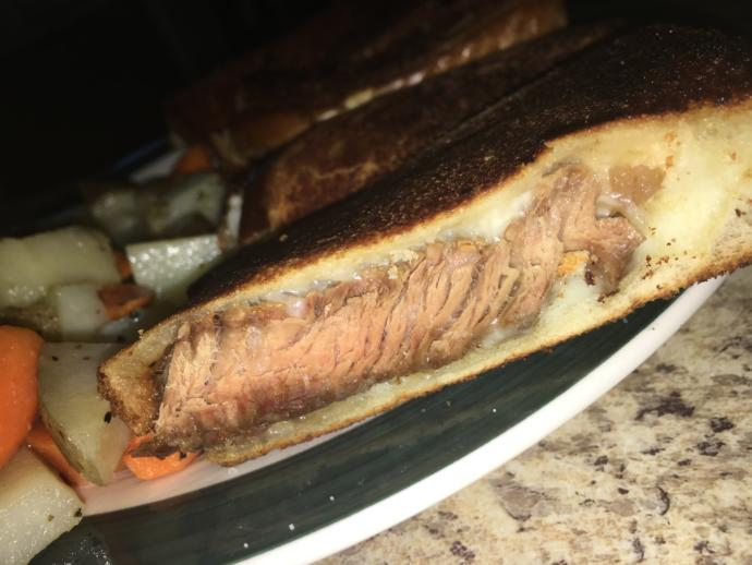 Would you eat these grilled steak sandwiches?