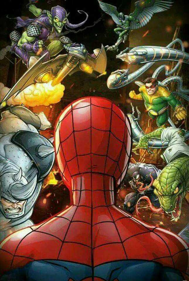 Comic book Spider-Man?