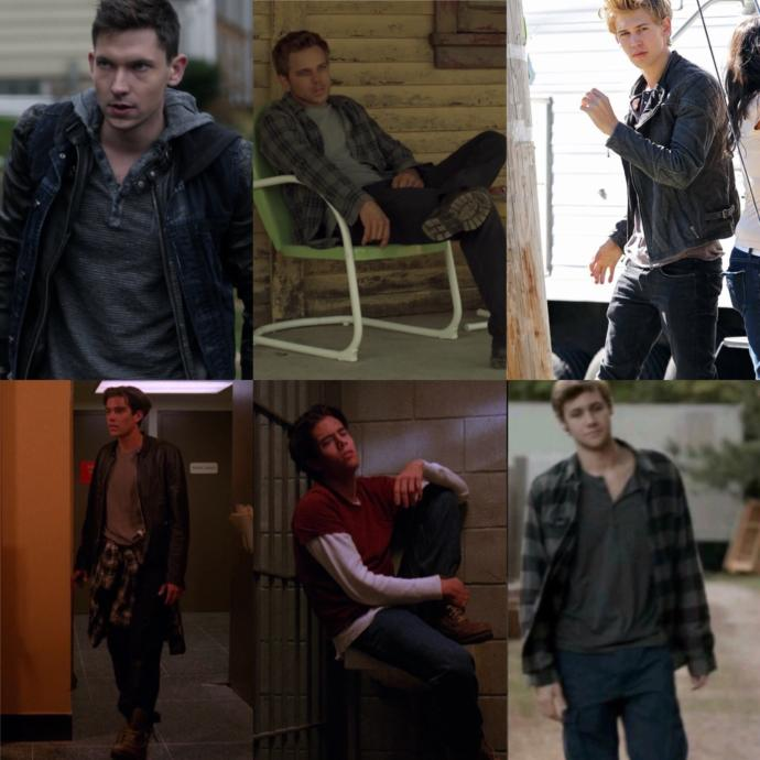 Why is this style used for criminal/bad boy characters?