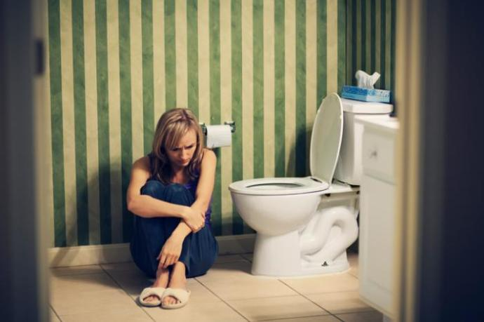 How can I prevent my mom from finding out that I poop?