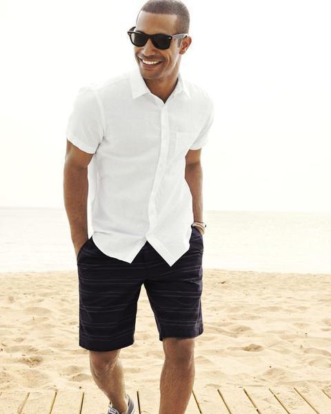 Short sleeve shirt looks retarted or not?
