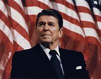 What was your opinion on Ronald Reagan as US President from 1981-1989?