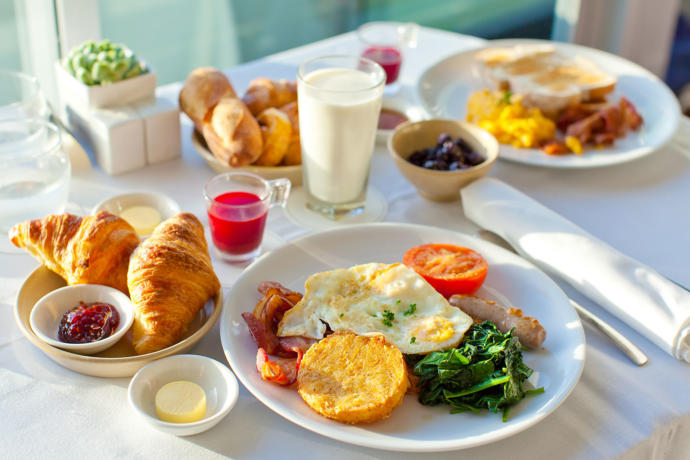 What did you have for your breakfast?